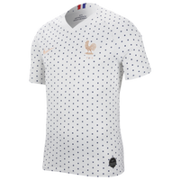 Nike France Breathe Stadium Jersey - Women's - France - White