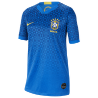 Nike Brazil Breathe Stadium Jersey - Boys' Grade School - Brazil - Blue
