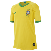 Nike Brazil Breathe Stadium Jersey - Boys' Grade School - Brazil - Yellow