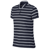 Nike Dri-FIT Dry Stripe Golf Polo - Women's - Navy