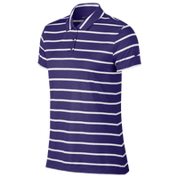 Nike Dri-FIT Dry Stripe Golf Polo - Women's - Purple