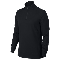 Nike Dri-FIT UV 1/4 Zip Golf Top - Women's - All Black / Black
