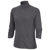 Nike Dri-FIT UV 1/4 Zip Golf Top - Women's - Grey