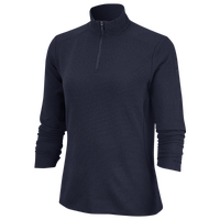 Nike Dri-FIT UV 1/4 Zip Golf Top - Women's - Navy