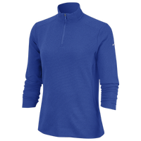 Nike Dri-FIT UV 1/4 Zip Golf Top - Women's - Blue