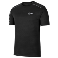 Nike Dry Miler Short Sleeve Top - Men's - Black