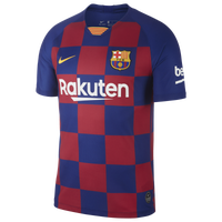 Nike Soccer Breathe Stadium Jersey - Men's - Barcelona - Navy