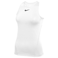 Nike Team Pro Tank All Over Mesh - Women's - White / White