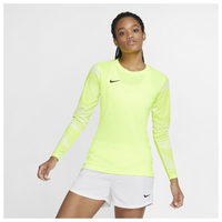 Nike Team Dry Park IV Goalie Jersey - Women's - Yellow