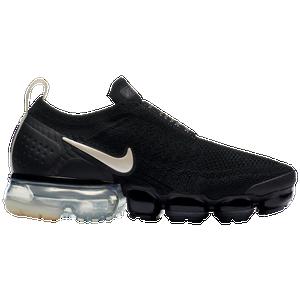 e3e0a17b6b1c Nike Air VaporMax Flyknit Moc 2 - Women s - Running - Shoes - Black Lt  Cream White Thunder Grey