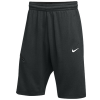 Nike Team Hangtime Shorts - Men's - Black / White
