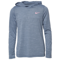 Nike Team L/S Training Top - Girls' Grade School - Grey