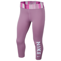 Nike One Tight Capri - Girls' Grade School - Pink