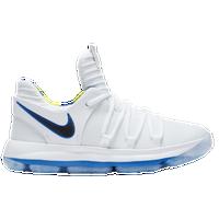 Nike KD 10 - Boys\u0027 Preschool - Kevin Durant - White / Blue