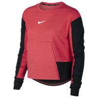 Nike Pacer Crew Top - Women's - Red
