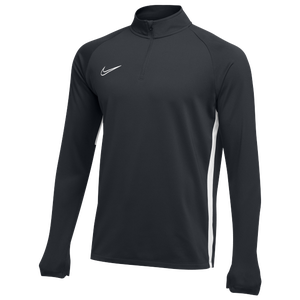 Nike Team Academy 19 Drill Top - Men's - Anthracite/White