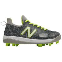 New Balance JFLPv1 Youth - Boys' Grade School - Grey / Light Green