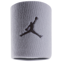 Jordan Jumpman Wristbands - Grey / Black