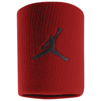 Jordan Jumpman Wristbands - Red / Black