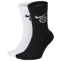 Nike FC Sneaker Essential Crew Socks - Black / White
