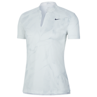 Nike Victory Summer Print Golf Polo - Women's - Light Blue