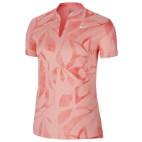 Nike Victory Summer Print Golf Polo - Women's - Pink