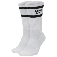 Nike 2 Pack Heritage Crew Socks - Men's - White
