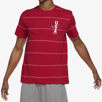 Nike Dri-Fit RWB AOP T-Shirt - Men's - Red