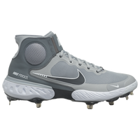 Nike Alpha Huarache Elite 3 Mid - Men's - Grey