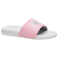 Champion Super Slide Mix Match - Girls' Grade School - White / Pink