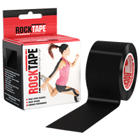 "RockTape 2"" Kinesiolgy Tape - All Black / Black"