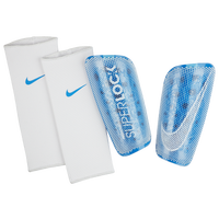 Nike Mercurial Lite Superlock Shin Guards - Blue / Blue
