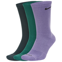 Nike 3 PK Dri-FIT Everyday Plus Crew Socks - Men's - Multicolor