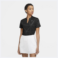 Nike Victory Fall Print Golf Polo - Women's - Black / White