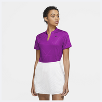 Nike Victory Fall Print Golf Polo - Women's - Purple