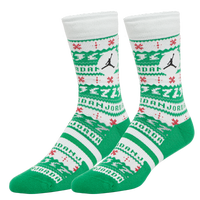 Jordan Legacy Crew Sock - Off-White / Green
