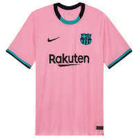 Nike Soccer Breathe Stadium Jersey - Men's - Barcelona - Pink