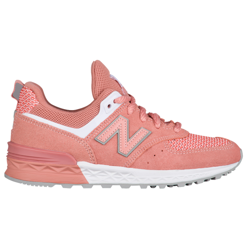 fc781a1c2 New Balance 574 Sport - Boys  Preschool - New Balance - Casual - Dusted  Peach White