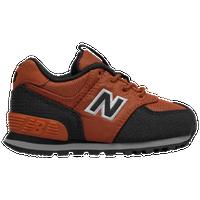 new balance 574 orange and black