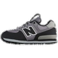 new balance 574 black grey and white