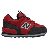 new balance shoes red and black. new balance 574 - boys\u0027 toddler red / black shoes and 2