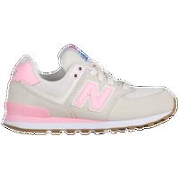 New Balance 574 - Girls\u0027 Toddler - Off-White / Pink