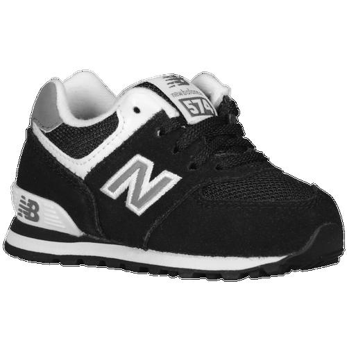 New Balance 574 - Boys\u0027 Toddler - Black / White