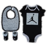 ... Jordan Cement Block 3 Piece Creeper Set - Boys Infant - Black Grey ... cbc465b1b