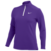 Nike Team Authentic 1/2 Zip Top - Women's - Purple