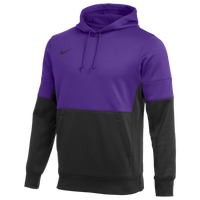 Nike Team Authentic Therma Hoodie - Men's - Purple / Black