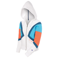 Champion Colorblock Zip Hoodie - Women's - White