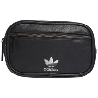 adidas Originals PU Leather Waist Pack - Black