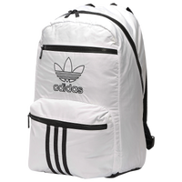 adidas Originals National 3-Stripes Backpack - White / Black