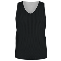 Alleson Lacrosse Reversible Mesh Pinnie - Men's - Black / Black